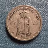 10 эре 1904  Швеция  серебро   (Z.3.6)~, фото №2
