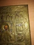 Старинная икона в окладе., фото №7