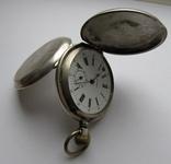 Часы карманные Blondel . Двойная крышка . Серебро, фото №2
