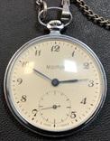 Карманные часы Молния. На ходу, фото №3