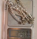 Кольє срібне,925 пр., фото №12