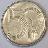 Чехія 50 гелерів, 1993