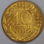 Франція 10 сантимів, 1996