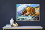 Берег Греции (масло/холст) 40х50 см, фото №4