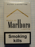 Сигареты Marlboro GOLD LIGHTS