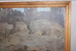 Антипов М.В. В колхозе. 1989. 69х70, фото №6