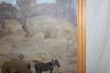 Антипов М.В. В колхозе. 1989. 69х70, фото №7