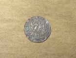 Солид Ливония Кристина 1645 (Haljak 1423b SB. - EF) photo 5