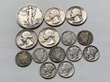 14 Монет Серебром США photo 2