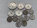 14 Монет Серебром США photo 3