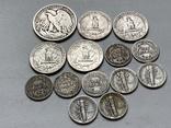 14 Монет Серебром США photo 4