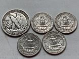 14 Монет Серебром США photo 5