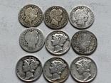 14 Монет Серебром США photo 8