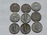 14 Монет Серебром США photo 10