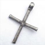 Византийский серебряный крест photo 1