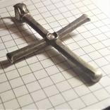 Византийский серебряный крест photo 5