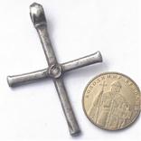 Византийский серебряный крест photo 6