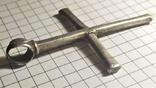 Византийский серебряный крест photo 11