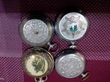 Корпуса к карманным часам 4 шт., фото №2