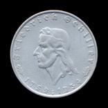 2 Марки 1934 Фридрих Шиллер, Третий Рейх, фото №2
