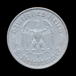2 Марки 1934 Фридрих Шиллер, Третий Рейх, фото №3