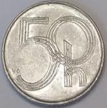 Чехія 50 гелерів, 1996