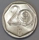 Чехія 20 гелерів, 1996