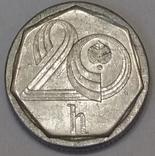 Чехія 20 гелерів, 1995