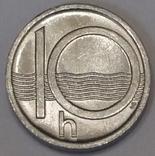 Чехія 10 гелерів, 1997