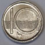 Чехія 10 гелерів, 2000