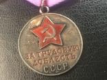 Медали за трудовую доблесть. photo 3