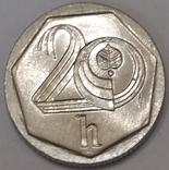 Чехія 20 гелерів, 1999
