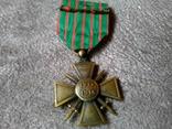 Военный Крест 1914-1918 годов Франция photo 2