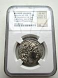 Тетрадрахма Антиох VII, 138-129 г.г. до н.э (слаб NGC)