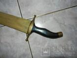 Меч ручной работы из рыбы-меч, фото №3