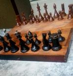 Старые шахматы с утяжелителями
