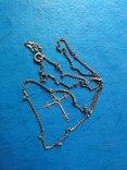 Цепочка с крестиком, фото №2