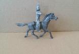 Индеец на лошади с луком серебристого цвета Texas Италия 1960-1970-х годов, фото №4