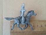 Индеец на лошади с луком серебристого цвета Texas Италия 1960-1970-х годов, фото №5