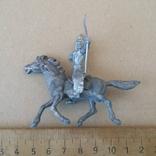 Индеец на лошади с луком серебристого цвета Texas Италия 1960-1970-х годов, фото №6