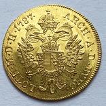 Дукат 1787 года. Австрия. aUNC.