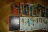 0ткрытки 58 штук (4 набора) сказки сказка Гуливер Пушкин Жар-птица, фото №3