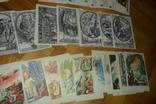 0ткрытки 58 штук (4 набора) сказки сказка Гуливер Пушкин Жар-птица, фото №6