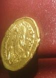 Золотий Солід Valentiniana III, фото №6