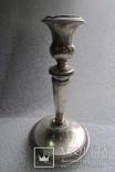 Подсвечник. Серебро 800 проба . 150 грамм ., фото №3
