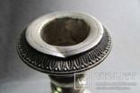Подсвечник. Серебро 800 проба . 150 грамм ., фото №12