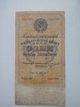 1 Рубль золотом 1924 г.
