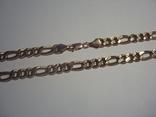 Золотая цепочка плетение Картье, фото №10