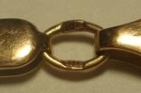 Золотая цепочка плетение Картье, фото №11
