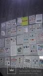 Марки  филателия каталог комплект изомонтажей 1977, фото №2